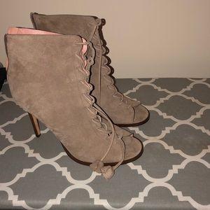 Coach open toed heels